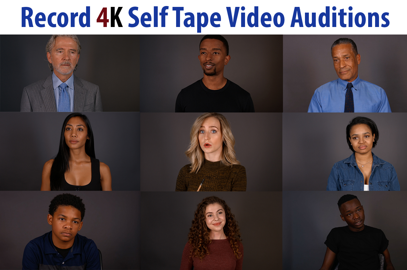 Self Tape Audition in 4K - The Creation Station Studios