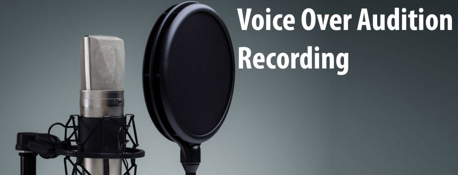 Self Tape - Voice Over Audition Recording - The Creation Station Studios