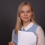 """Congrats to Maddie McCormick on Booking a role in the Film """"Night Before Christmas"""" from her Self Tape Audition!"""