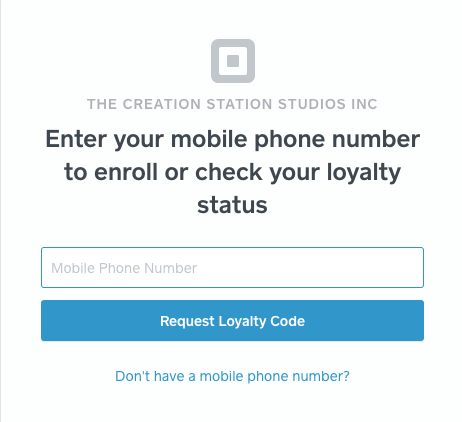 The creation Station studios - Self Tape Loyalty Program/Rewards