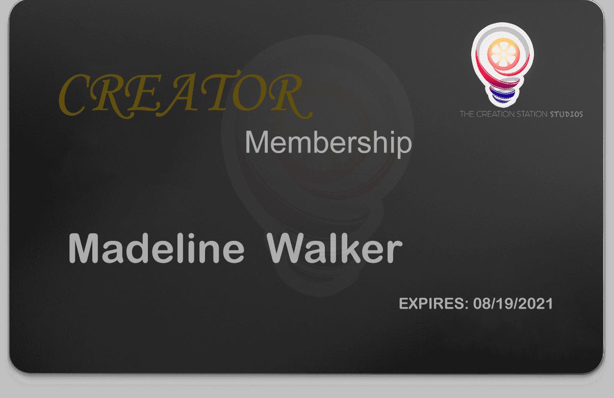 front creator Membership